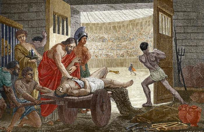 galen-treating-a-gladiator-in-pergamum-sheila-terry
